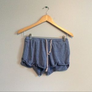 F21 Blue Lounge Shorts